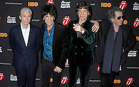 """The Rolling Stones at the premiere of """"Crossfire Hurricane"""" - New York"""