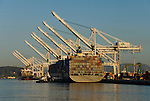 California: Container shipping at Port of Oakland. Photo copyright Lee Foster. Photo # casanf78975