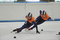 SCHAATSEN: LEEUWARDEN: 21-06-2016, ELFSTEDENHAL, Training Zomerijs, ©foto Martin de Jong