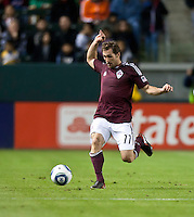 Colorado Rapids midfielder Brian Mullan (11) during the first half of the game between Chivas USA and Colorado Rapids at the Home Depot Center in Carson, CA, on March 26, 2011. Final score Chivas USA 0, Colorado Rapids 1.