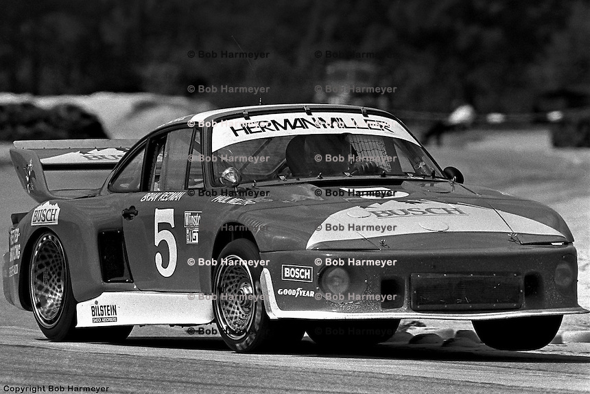 Starting 4th, the trio of Paul Miller, Charles Mendez and Brian Redman drove this Porsche 935 to a 2nd place finish at Sebring in 1979, one lap off the leaders' pace.