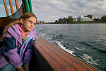 Taking a water taxi in Victoria's inner harbor is not only a way to explore the area without a car, but the ride offers stunning views of the Parliament Building and the Empress Hotel which line the Promenade.
