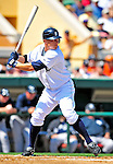 11 March 2009: Detroit Tigers' infielder Brandon Inge in action during a Spring Training game against the New York Yankees at Joker Marchant Stadium in Lakeland, Florida. The Tigers defeated the Yankees 7-4 in the Grapefruit League matchup. Mandatory Photo Credit: Ed Wolfstein Photo