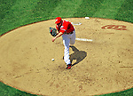 28 May 2011: Washington Nationals pitcher Sean Burnett on the mound against the San Diego Padres at Nationals Park in Washington, District of Columbia. The Padres defeated the Nationals 2-1 to even their 3-game series. Mandatory Credit: Ed Wolfstein Photo