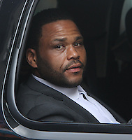NEW YORK, NY-September 20: Anthony Anderson at the Late Show with Stephan Colbert to talk about new season of the Black-ish in New York. September 20, 2016. Credit:RW/MediaPunch