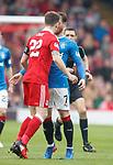 Ryan Jack and Joe Garner clash