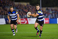 George Ford of Bath Rugby in possession. Aviva Premiership match, between Bath Rugby and Sale Sharks on October 7, 2016 at the Recreation Ground in Bath, England. Photo by: Patrick Khachfe / Onside Images