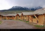 Tourist Cabins, Gardiner. Montana