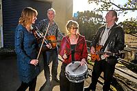 Hobnail band photoshoot in Porirua, Wellington, New Zealand on Tuesday, 25 April 2017. Photo: Dave Lintott / lintottphoto.co.nz