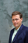 David Baldacci in Paris to promote his book.