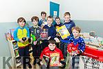 At the ARDFERT Community Centre. Christmas Markets on Sunday were Eoin Lawlor, Ana Tebol, Oisin Lawlor, sean Tebol, Jack McCarthy, Niall McCarthy, Liam Og O'Connor and Garry O'Riordan