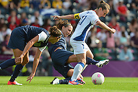 Glasgow, Scotland - July 25, 2012: Lauren Cheney of the US women's national team during USA's 4-2 win over France.