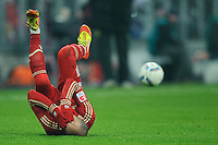 Fussball Bundesliga Saison 2011/2012 13. Spieltag FC Bayern Muenchen - Borussia Dortmund Arjen ROBBEN (FCB).