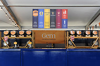 A general view of Bath ales set-up. The Clash, Aviva Premiership match, between Bath Rugby and Leicester Tigers on April 8, 2017 at Twickenham Stadium in London, England. Photo by: Rob Munro / Onside Images