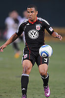 D.C. United forward Charlie Davies (9). D.C. United defeated The Vancouver Whitecaps FC 4-0 at RFK Stadium, Saturday August 13 , 2011.