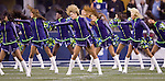 Seattle Seagals perform during a timeout at  CenturyLink Field in Seattle, Washington on December 12, 2011. The Seahawks beat the Rams 30-13. ©2011 Jim Bryant Photo. All Rights Reserved.