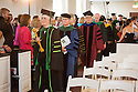 Marga Sproul, M.D., from left, Dean Rick Morin, M.D. Commencement, class of 2013.