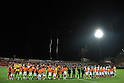 Two team group line-up, AUGUST 7, 2011 - Football / Soccer : 2011 J.League Division 1 match between Omiya Ardija 2-2 Vegalta Sendai at NACK5 Stadium Omiya in Saitama, Japan. (Photo by Hiroyuki Sato/AFLO)