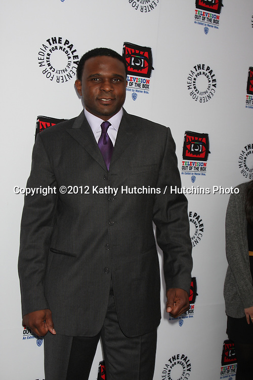 "LOS ANGELES - APR 12:  Darius McCrary arrives at Warner Brothers ""Television: Out of the Box"" Exhibit Launch at Paley Center for Media on April 12, 2012 in Beverly Hills, CA"
