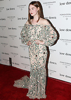 HOLLYWOOD, LOS ANGELES, CA, USA - OCTOBER 23: Elle Fanning arrives at the Los Angeles Premiere Of Oscilloscope Laboratories' 'Lowdown' held at ArcLight Hollywood on October 23, 2014 in Hollywood, Los Angeles, California, United States. (Photo by Celebrity Monitor)