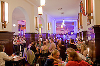 Clarchen Ballhaus is a traditional dance hall and restaurant in Mitte (former East Berlin). A mixture of Weimar Republic and DDR (East German) design, the dance hall first opened in 1913. It has survived two World Wars and all the political changes of the 20th-21st century and is now more popular than ever with both young and old.