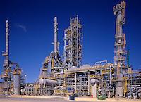 Oil Refinery.  Unit in oil refinery. Australia.