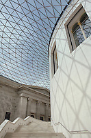 British Museum Rotunda Stairwell - London UK