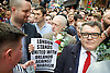 Vigil for the people murdered in the Pulse Club shooting in Orlando Florida by Omar Mateen<br /> in Old Compton Street, London, Great Britain <br /> 13th June 2016 <br /> <br /> <br /> Jeremy Corbyn <br /> Leader of the labour Party <br /> <br /> Tom Watson  <br /> <br /> Photograph by Elliott Franks <br /> Image licensed to Elliott Franks Photography Services