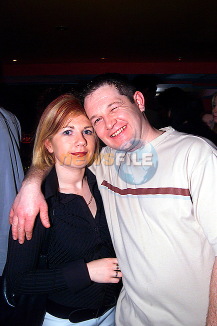 Michelle Fallon and Paul Mohan in Storm night club...Pic Tony Campbell/Newsfile