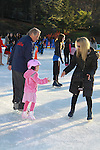 Rod Gilbert - New York Rangers -  and granddaughter at the 2012 Skating with the Stars - a benefit gala for Figure Skating in Harlem celebrating 15 years on April 2, 2012 at Central Park's Wollman Rink, New York City, New York.  (Photo by Sue Coflin/Max Photos)