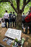 06.08.2015 - 70th Hiroshima Memorial Day in London