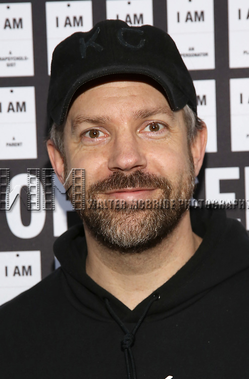 Jason Sudeikis attends the Opening Night 'In & Of Itself' at the Daryl Roth Theatre on April 12, 2017 in New York City