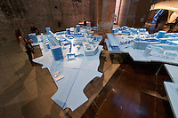 Venice, Italy - 15th Architecture Biennale 2016, &quot;Reporting from the Front&quot;.<br /> Arsenale.<br /> The Work of Bel Architects in Berlin.