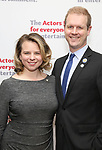 Irene Carl Sankoff and David Hein attends The Actors Fund Annual Gala at the Marriott Marquis on 5/8//2017 in New York City.