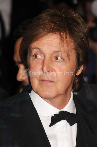 Paul McCartney at the 'Alexander McQueen: Savage Beauty' Costume Institute Gala at The Metropolitan Museum of Art in New York City. May 2, 2011. © mpi01 / MediaPunch Inc.