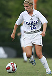 Duke's Elisabeth Redmond on Sunday September 17th, 2006 at Koskinen Stadium on the campus of the Duke University in Durham, North Carolina. The Duke Blue Devils and Marquette Golden Eagles tied 1-1 after overtime in an NCAA Division I Women's Soccer game.