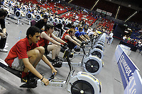Birmingham, Great Britain,  Jun Team Rowing, at the 2008 British Indoor Rowing Championships, National Indoor Arena. on  Sunday 26.10.2008 . [Photo, Peter Spurrier/Intersport-images] ..