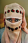 FRANCE-10042, Muslim girl from Mali at a mosque, Marseilles, France, 1989<br />
