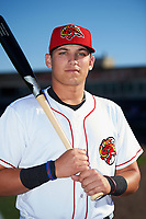 Florida Fire Frogs third baseman Austin Riley (13) poses for a photo before a game against the Daytona Tortugas on April 6, 2017 at Osceola County Stadium in Kissimmee, Florida.  Daytona defeated Florida 3-1.  (Mike Janes/Four Seam Images)