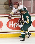 Patrick Brown (BC - 23), Brett Leonard (Vermont - 26) - The Boston College Eagles defeated the visiting University of Vermont Catamounts 6-0 on Sunday, November 28, 2010, at Conte Forum in Chestnut Hill, Massachusetts.