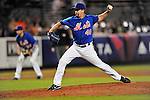 5 March 2012: New York Mets pitcher Tim Byrdak in action during a Spring Training game against the Washington Nationals at Digital Domain Park in Port St. Lucie, Florida. The Nationals defeated the Mets 3-1 in Grapefruit League play. Mandatory Credit: Ed Wolfstein Photo