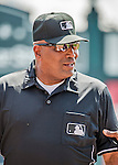 21 March 2015: MLB Umpire Laz Diaz is ready to start a Spring Training game between the Washington Nationals and the Atlanta Braves at Champion Stadium at the ESPN Wide World of Sports Complex in Kissimmee, Florida. The Braves defeated the Nationals 5-2 in Grapefruit League play. Mandatory Credit: Ed Wolfstein Photo *** RAW (NEF) Image File Available ***