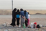 IDPs flee Mosul, June 2014