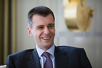 Mikhail Prokhorov At Home