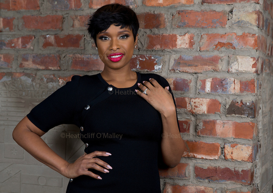 May0074602 . Daily Telegraph<br /> <br /> DT Weekend<br /> <br /> American Actress/Singer Jennifer Hudson, one of the four Judges on talent show The Voice which is now on ITV .<br /> <br /> <br /> London 4 January 2017