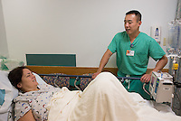 St. Mary's Medical Center. Patient, release 20120523004, and Vincent Kan, class of 2014.