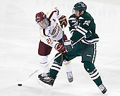 Steven Whitney (BC - 21), Dustin Walsh (Dartmouth - 22) - The Boston College Eagles defeated the visiting Dartmouth College Big Green 6-3 (EN) on Saturday, November 24, 2012, at Kelley Rink in Conte Forum in Chestnut Hill, Massachusetts.