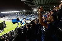 San Jose, CA - Saturday, March 04, 2017: Avaya Stadium, fans during a Major League Soccer (MLS) match between the San Jose Earthquakes and the Montreal Impact at Avaya Stadium.
