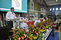"TAMESIS, CO JULY 24: Tamesis Mayor Alexander Zuluaga speaks during ""Encuentro de Dirigentes del Suroeste"" in Tamesis Antioquia on July 24, 2016.(Photo by VIEWpress/Guillermo Betancur)"