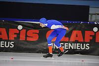 SCHAATSEN: HEERENVEEN: 04-12-2016 IJsstadion Thialf, Clubwedstrijden, ©foto Martin de Jong